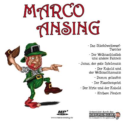 Werkauswahl: Kurzgeschichten für Kinder und Erwachsene – Marco Ansing