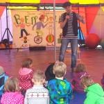 Kinder-Zirkuszelt