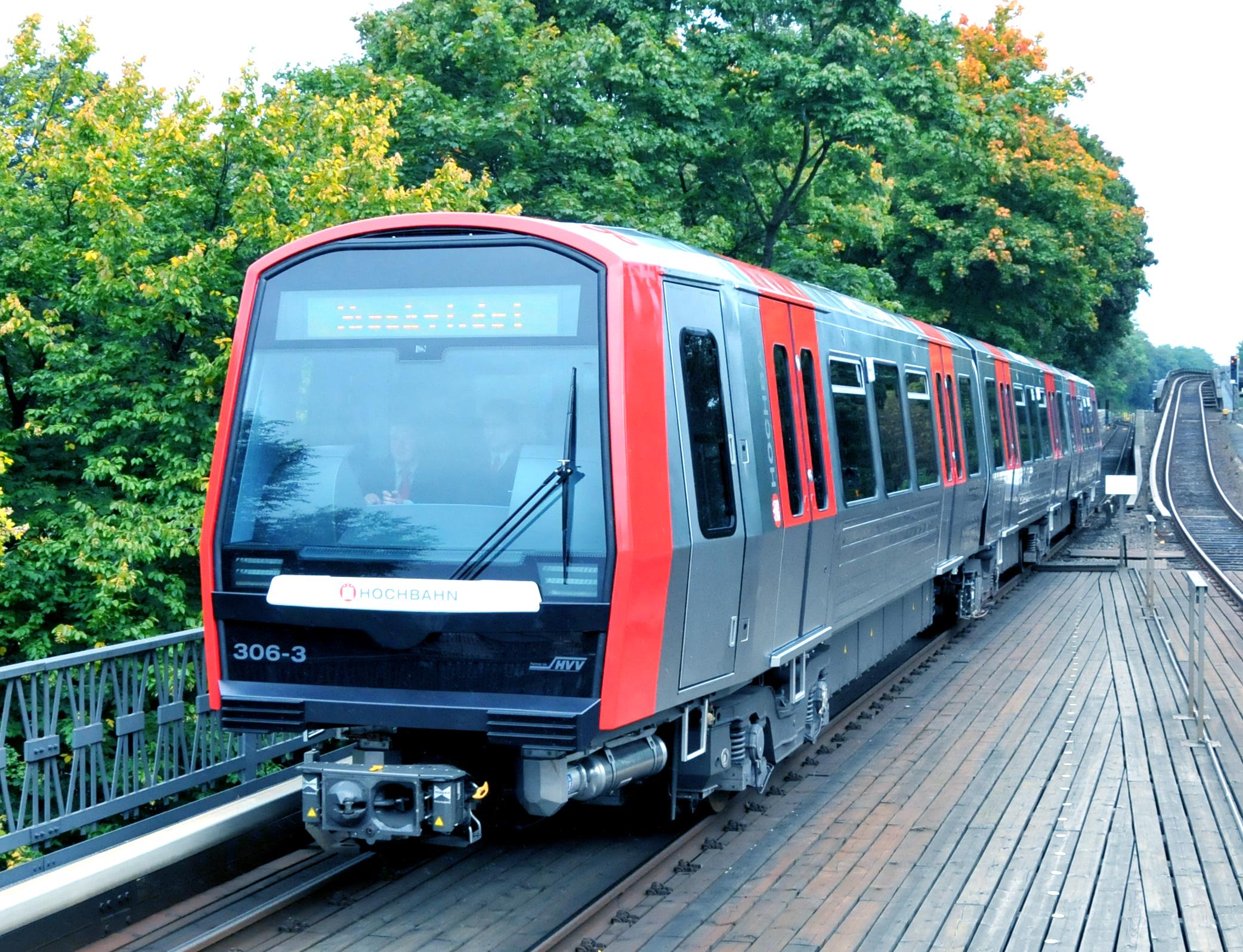U-Bahn des HVV